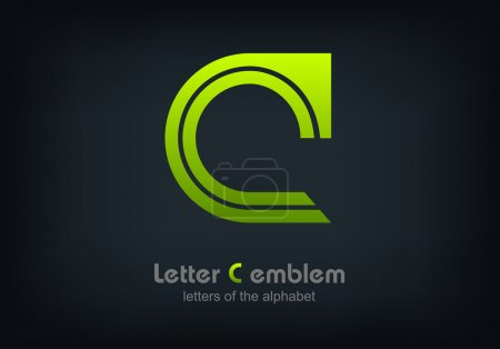 Letter C logo icon design