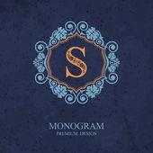 Monogram   Letter emblem S