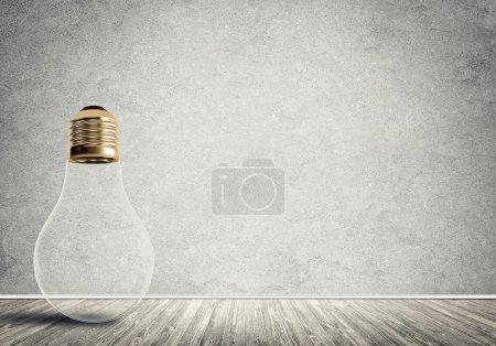 Ampoule de verre