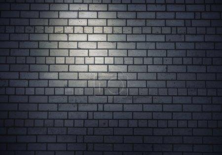 Photo pour Image de fond de mur blanc de brique. Place pour le texte - image libre de droit