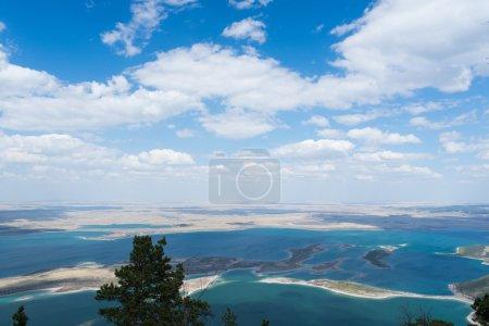 Kazakhstan blue lakes