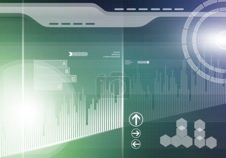 Innovative technologies background