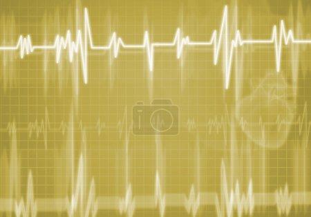 Digital background Heart care