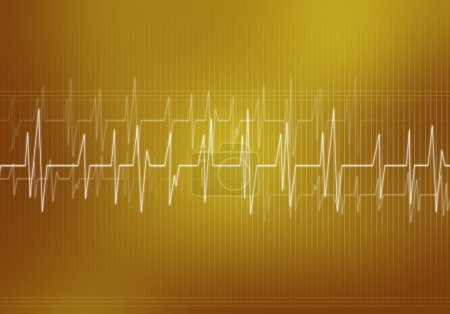 Digital background Heart care