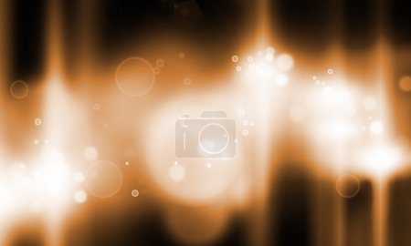 Photo for Background image with stage blurred lights and beams - Royalty Free Image