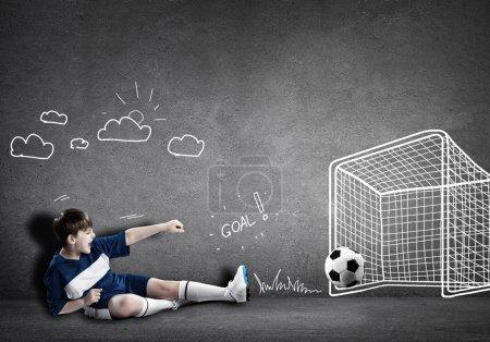 spiel sport spielen spass shoot blau