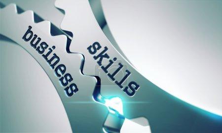 Business Skills on the Cogwheels.