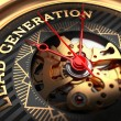 Lead Generation on Black-Golden Watch Face with Wa...
