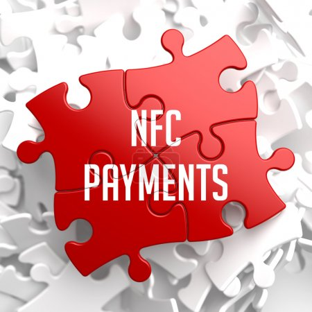 NFC Payments on Red Puzzle.