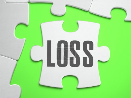 Loss - Jigsaw Puzzle with Missing Pieces.