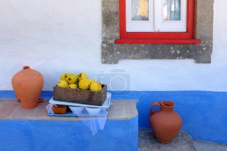 Photo pour Détail de la maison rurale portugaise typique avec des détails pittoresques - image libre de droit