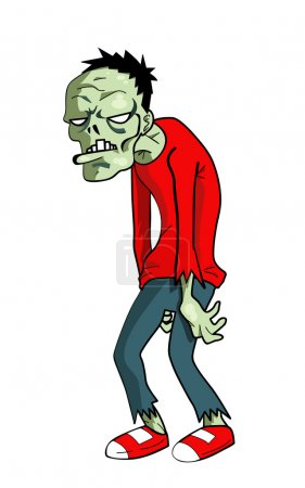 Cartoon zombie