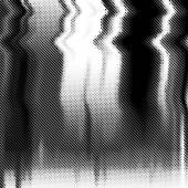 Glitch vector background Halftone texture