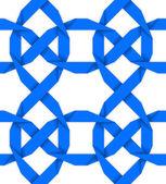 Vektorové bezešvé vzor se zkříženými modrými pruhy