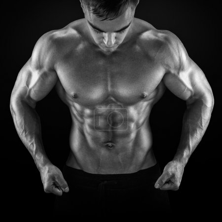Strong and power bodybuilder