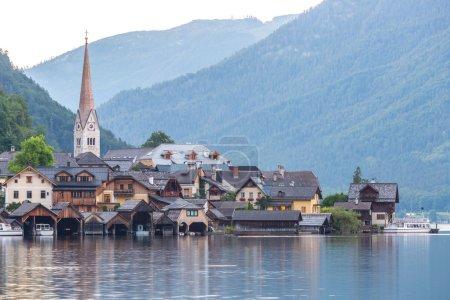 Hallstat Village in Austria