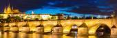 Parha při západu slunce v České republice