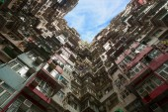 "Постер, картина, фотообои ""Гонконг Жилая квартира"""