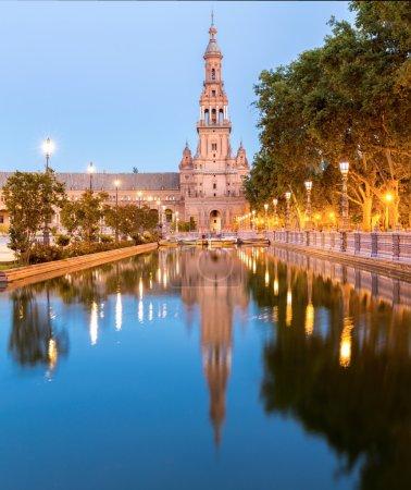 Panorama of Espana Square
