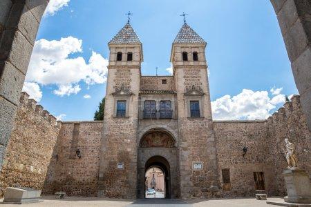 Toledo's gate in Spain
