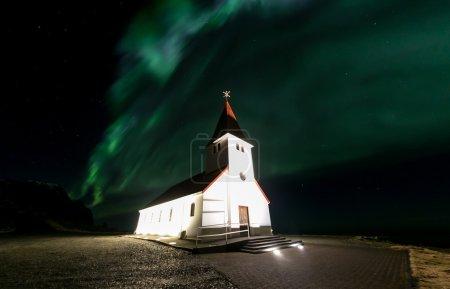 Vik Church in Iceland