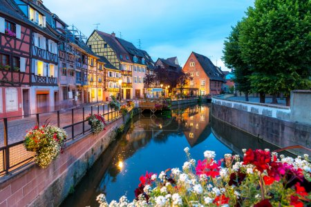 Colmar city in France