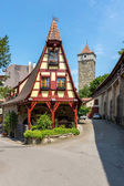 Rothenburg ob der Tauber in Germany