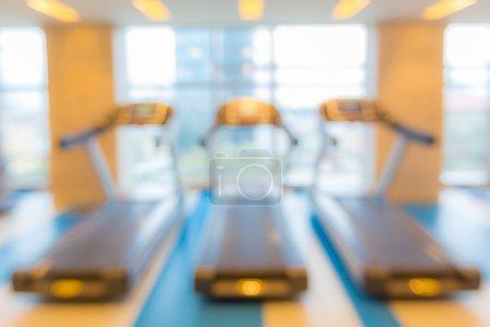Fitness club blur background