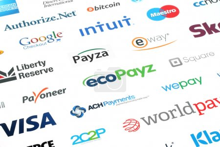Collection of popular payment system