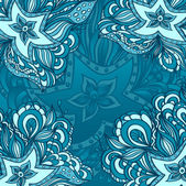 Background with doodle starfishes