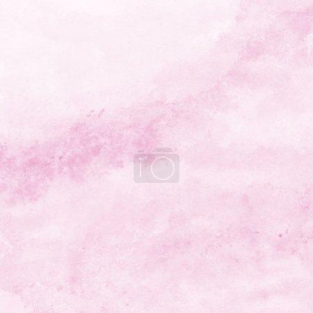 Foto de Fondo de textura de acuarela rosa suave, pintado a mano - Imagen libre de derechos