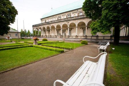 Queen Anne Summer Palace in Prague.