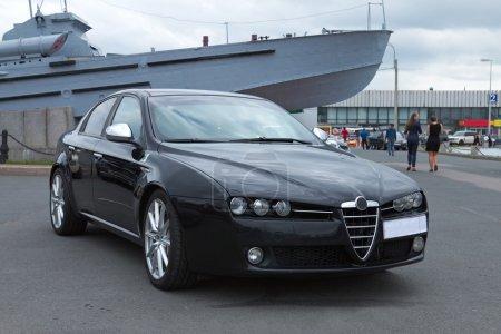 Роскошный итальянский автомобиль в
