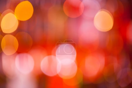 Photo for Abstract blur spot lights on colored background - Royalty Free Image