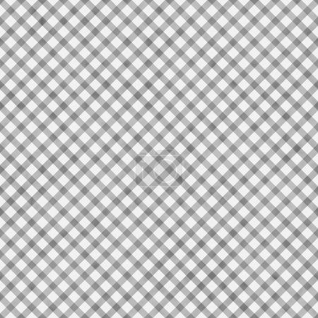 Photo pour Vichy gris clair répéter de fond qui est transparente et se répète - image libre de droit