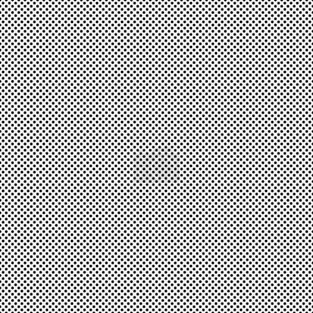 Black  Small Polka Dot Pattern Repeat Background