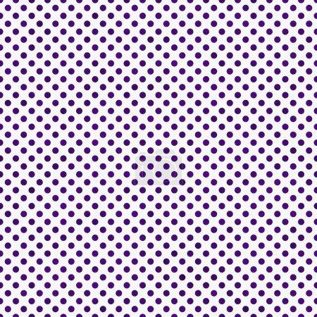 Photo pour Dark Violet et blanc petits pois de fond répétée qui est transparente et se répète - image libre de droit