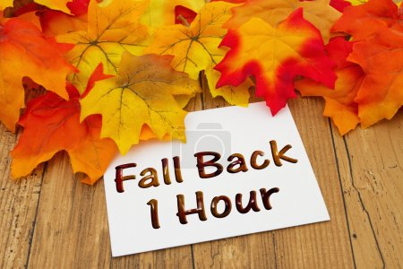 Fall Back 1 Hour