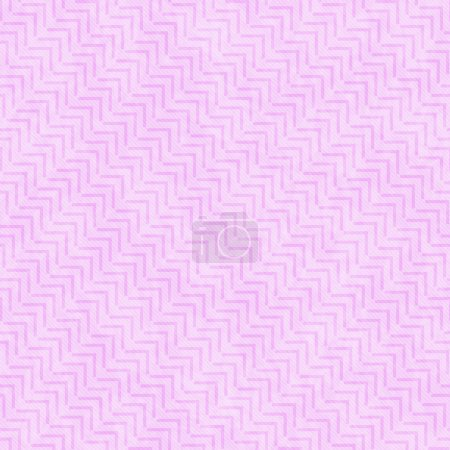 Pink Geometric Design Tile Pattern Repeat Background
