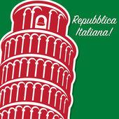 Italian Republic Day card
