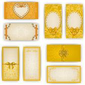 Elegant template for luxury invitation card