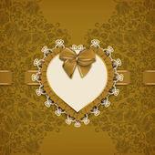 Elegant  template for invitation or card