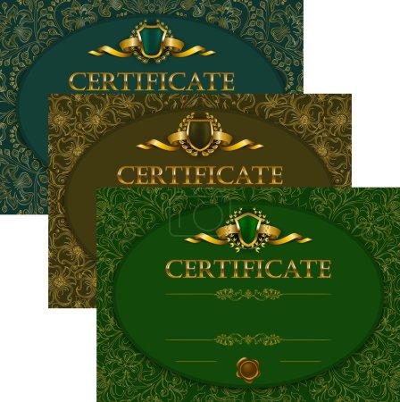 Set of elegant templates