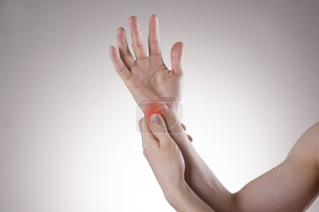 Pain in the joints of the hands