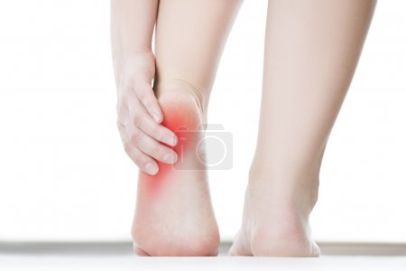 Pain in the female foot