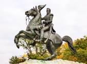 Jackson Statue Lafayette Park Autumn Pennsylvania Ave Washington