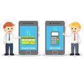 Pagamento mobile da smartphone