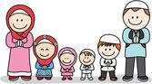 Moslem family