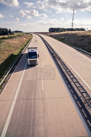 Photo for A stretch of motorway in Germany - Royalty Free Image