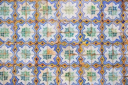 the ceramic tiles
